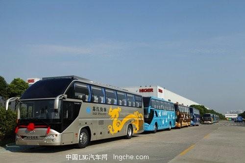 苏锡常通海格LNG客车